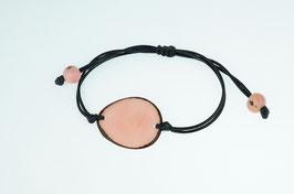 """Armband """"Laurapu"""" rosa/ Bracelet """"Laurapu"""" rose"""