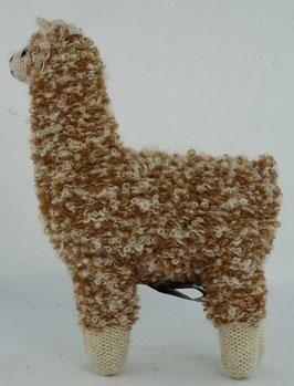 """Kuscheltier """"Alpaquita-Apaloosa"""" gesprenkelt, braun-beige / Plush toy """"Alpaquita-Apaloosa"""" speckled, brown-beige"""
