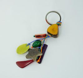"""Tagua-Schlußelanhänger """"Charms"""" gelb/ Tagua key ring """"Charms"""" yellow"""