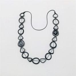 Tagua-Kette Francis schwarz/ Tagua Necklace Francis black