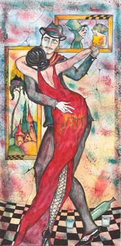 """Kunstkarte """"der Tanz"""" Artikelnummer: 1036"""