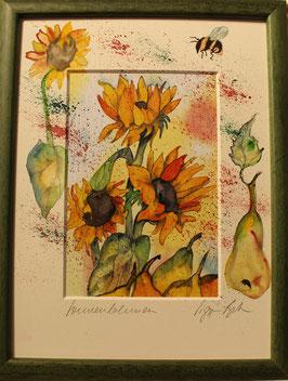 Sonnenblumen 24x18