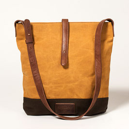 Tote Bag No. II - Cognac Brown from NOY