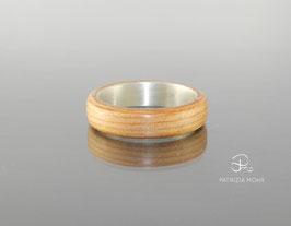 Holzring mit Silber | Oregon Pine