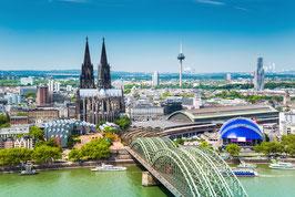 30 Min. Hubschrauberflug Köln in der eigenen Gruppe