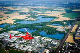 20 Min. Hubschrauberflug Region Köln