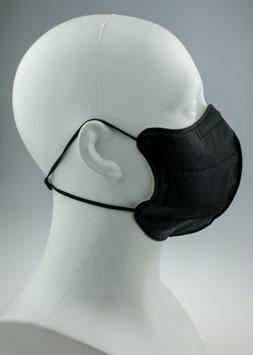 FFP2 Mask Black Smile Adult L