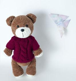 ♥ Teddy chocolat ♥ (Disponible sur commande)