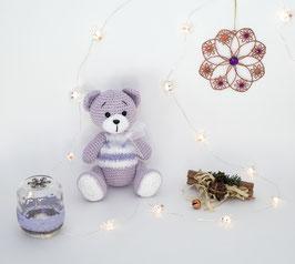 ♥ Petit ours ♥ (violet)