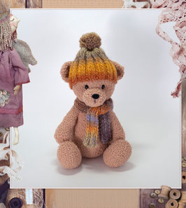 ♥ Teddy Bear bonnet et écharpe ♥