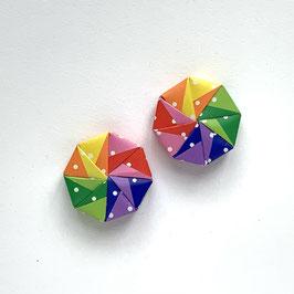 Mini Origamischachtel Duo