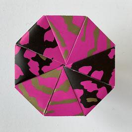 Origamischachtel Pink-Black