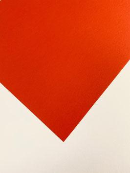 DIN A4 Cardstock Classic Orange-Rot (5 Bögen)