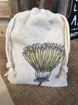 Treasure bag gele paardenbloem / yellow dandelion