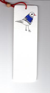 Bamboe bladwijzer vogel / bamboo bookmark bird