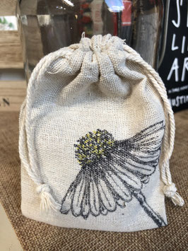 Treasure bag madelief / daisy
