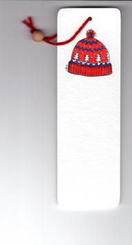 Bamboebladwijzer Muts / Bamboo Bookmark Woolen Hat