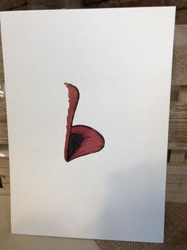 Inkttekening bovenlip 2 / ink drawing upper lip 2