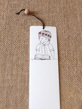 Bamboe bladwijzer lente / Bamboo bookmark spring