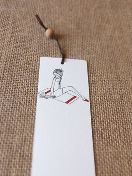 Bamboe bladwijzer zomer / Bamboo bookmark summer