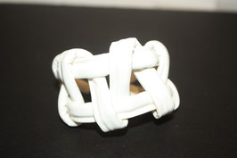 White Tribal Bracelet