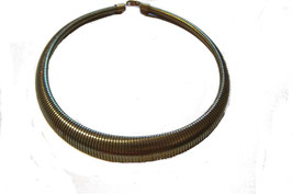 Vintage Brass Egyptian Collar Necklace