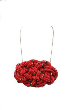 Coral Knotz Necklace
