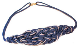 Blue Knotted Belt