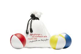 Jonglierballset «Jonglieren – so einfach wie noch nie!»