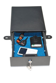 caja de  seguridad para vehiculo