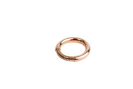 New mate ring M rosé item no. NVr01M/rosé