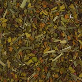 Indischer Sonnengruß - mit Ingwer-Kurkuma Geschmack