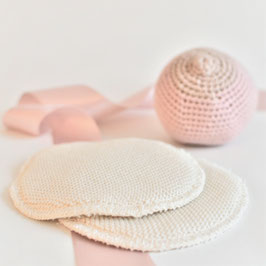 Nursing pads wool/silk