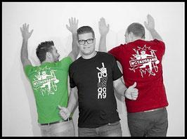 T-Shirt - NOTAUSGANG - WOMAN - Schwarz