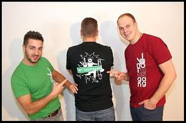 T-Shirt - NOTAUSGANG - MEN - Schwarz