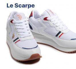 U.S. Polo Assn. - Sneaker low Bianco-Unifarben