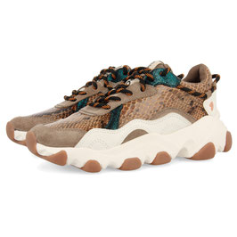 Gioseppo Sneaker high Animal Print Beige