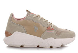 U.S. Polo Assn.   Sneaker low - Willow - Creme Beige