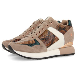 Gioseppo Sneaker low Beige animal Print