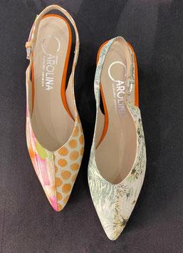 Donna Carolina HAND MADE -  Slipper  UNI Farbe