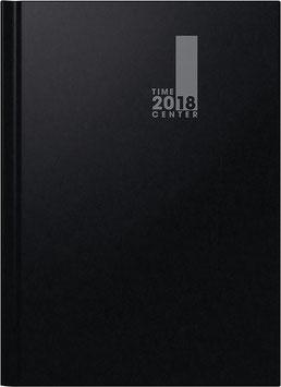 Modell 72941 TimeCenter 21x29,7cm Baladek-Einband Schwarz - Brunnen Buchkalender 2020