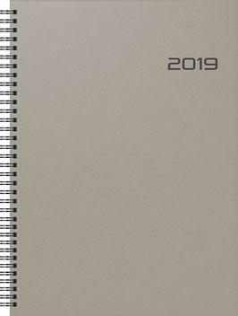 Modell 781 21x29,7cm PP-Einband Anthrazit - Brunnen Buchkalender 2021