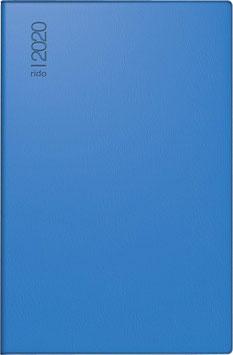 Industrie II 7,6x12,7cm Kunststoff-Einband Blau Modell 16212 - Rido Taschenkalender 2021