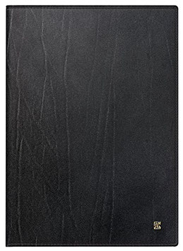 Modell 765 14,3x20,2cm Leder-Einband la fontaine - Brunnen Buchkalender 2020