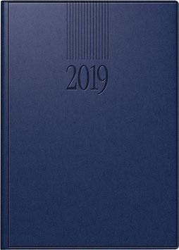 Roma 1 14,2x20cm Balacron-Einband Blau Modell 28903 - Rido Buchkalender 2021