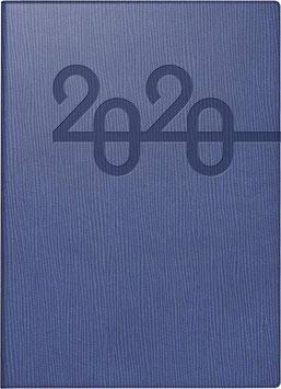 Technik III 10x14cm Kunstleder-Einband Prestige Blau Modell 18283 - Rido Taschenkalender 2022