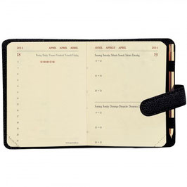 Miniday 7x10cm Kalender-Einlage - Quo Vadis Kalender 2022