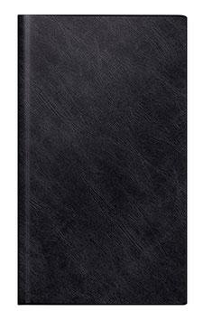 reise-merker 11,3x19,5cm Schaumfolien-Einband Catana Schwarz Modell 25012 - Rido Buchkalender 2021