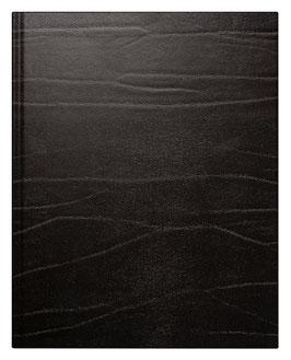 Managerkalender TM 20,5x26cm Leder-Einband Toscana Schwarz Modell 24068 - Rido Buchkalender 2021