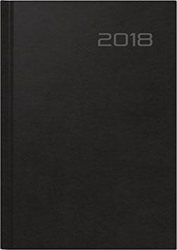 Futura 2 14,8x20,8cm Balacron-Einband Schwarz Modell 21003 - Rido Buchkalender 2021